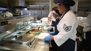 146th Airlift Wing services team nominated for Kenneth Disney award for the best dining facility operations for the Air National Guard.