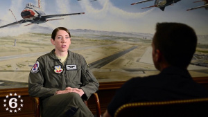 Flying High - Thunderbird Capt. Michelle Curran