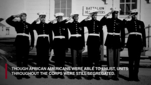 USMC Black History Month 2019: Montford Point