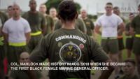 USMC Black History Month 2019: Lorna Mahlock