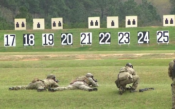 U.S. Army Small Arms Championships, Infantry Trophy Team Match