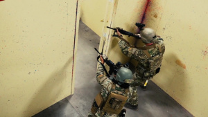 Air Force security Forces Personnel Polish Close Quarters Combat Skills