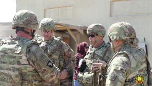 103d Sustainment Command Conducts Pre-deployment Site Survey