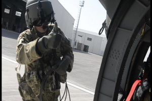 Connecticut Adjutant General Visits Troops