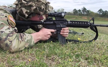 2019 U.S. Army Small Arms Championship Infantry Trophy Team Match B-Roll