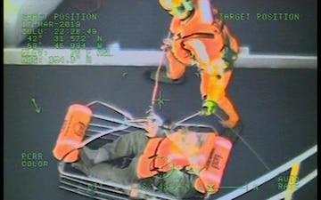 Coast Guard Air Station Cape Cod Medevacs Ill Fisherman Off Gloucester, Massachusetts Coast