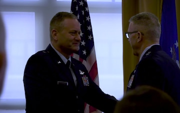Former 107th ATKW Commander Receives His First Star