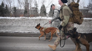Grand Forks Air Force Base National K9 Veteran's Day Ruck