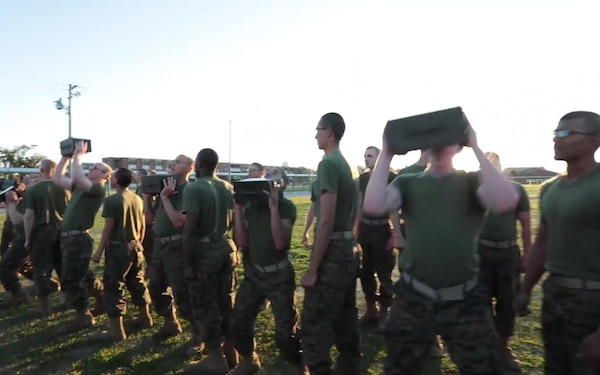 The Marine Corps Combat Fitness Test