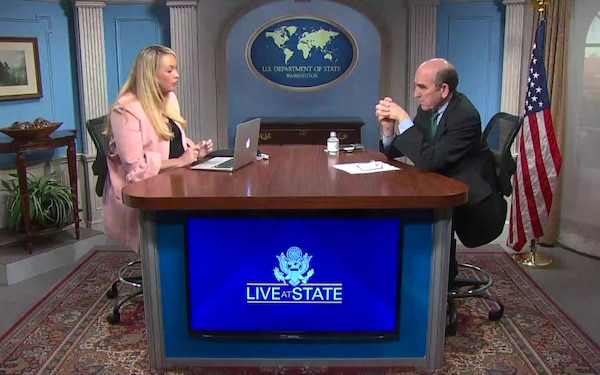 LiveAtState with U.S. Special Representative for Venezuela Elliott Abrams