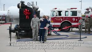 AETC Commander visits Goodfellow
