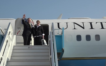 U.S.Secretary of State Departs Israel
