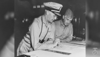 Gen. Vandegrift, First Marine Four-Star