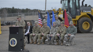 Connecticut Air National Guard Breaks Ground on New Main Gate (Without Titles)