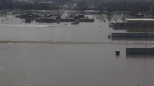 Offutt Flood Aerial B-Roll