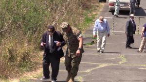 Veterans visit Mt. Suribachi during 74th Reunion of Honor