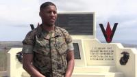 U.S. Marine honors Reunion of Honor