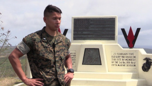 U.S. Marine explains what Reunion of Honor means to him