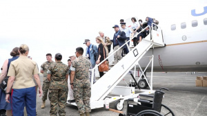 Reunion of Honor commemorates Battle of Iwo Jima   B-roll