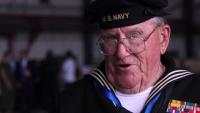 World War II Veteran speaks about the Battle of Iwo Jima