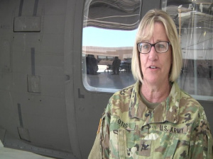 Colonel Heidi Otis interview