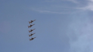 Air Force Thunderbirds Slow Motion