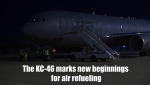 Third KC-46 Arrival