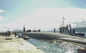 USS Florida Arrives in Souda Bay, Greece