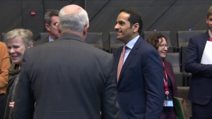 Deputy Prime Minister and Minister of Foreign Affairs of Qatar attends the North Atlantic Council