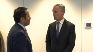Deputy Prime Minister and Minister of Foreign Affairs of Qatar visits NATO Headquarters