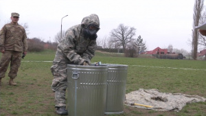 Liberty battalion freshens up with chemical training