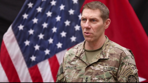SOJTF-OIR Commanding General reflects on the defeat of Daesh's physical caliphate (no music)