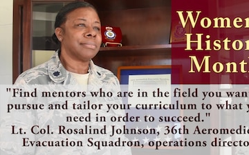 Women's History Month: Lt. Col. Rosalind Johnson