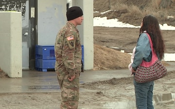 SD Guard provides water to Pine Ridge Residents