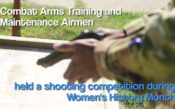 Women's History Month: Shooting Competition