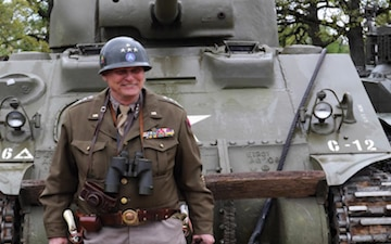 Patton reenactor continues legacy of service