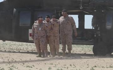 Exercise Desert Leopard II B-Roll