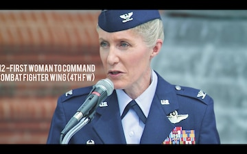Brig. Gen. Jeannie Leavitt Bio Video