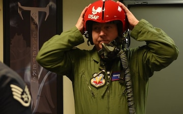 Hometown Hero Flies with Thunderbirds