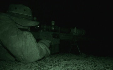 International Snipers Fire at Night