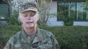 Maj. Gen. Mary E. Link Interview with her as Outgoing Commander - AR-MEDCOM change of command