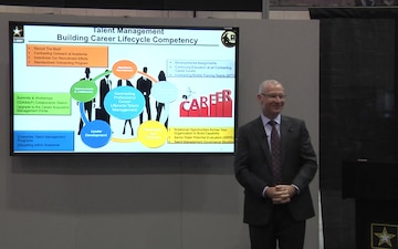 AUSA Warriors Corner, Day 2 – Talent Management and Army Contracting: Building Competency, Capability, and Capacity