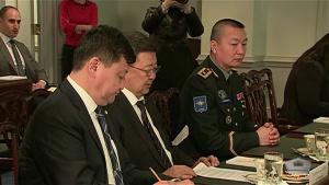 Mongolian Defense Minister Visits Pentagon