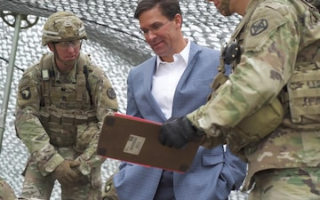 Secretary of the Army Visits Fort Sill