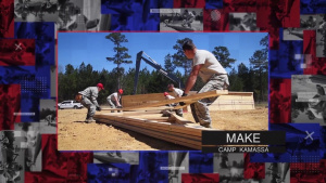 200th RHS tip of the spear for year two of Camp Kamassa IRT project in Mississippi