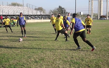All-Army Soccer Tryouts - Capt. Andrew Trahan