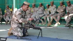 Iraqi Weapons Training