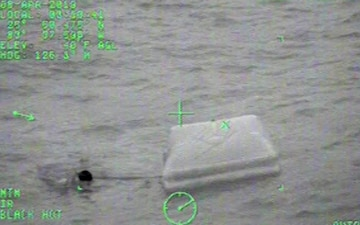 Coast Guard Rescues 3 From Life Raft After Fishing Boat Sinks