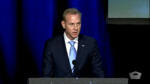 Acting Defense Secretary Speaks at 35th Space Symposium