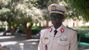 Armed Forces of Senegal Col. Diouf Interview